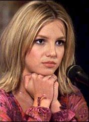 Britney thinking