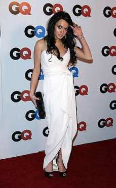 Lohan at the GQ awards