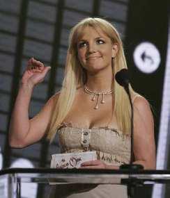 Britney at the AMAs in Nov. (AP)