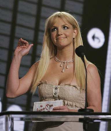 Britney at AMAs (AP)