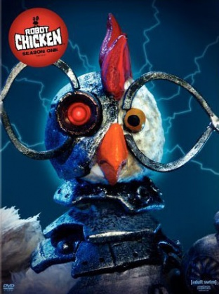 BAWK!  Robot chicken