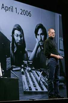 Steve Jobs at Macworld 06 (AP)