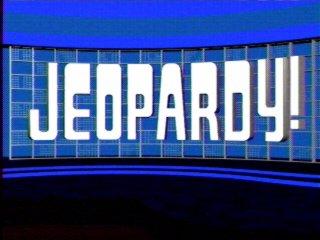 Jeopardy set logo