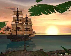 Pirates game shot