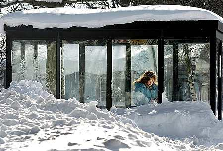 New York record snow (AP)