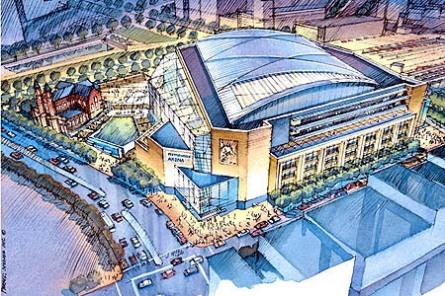 Penguins new arena (HOK Sport)