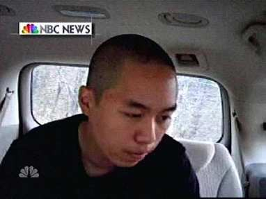Cho in SUV between killings 2 (AP/NBC News)