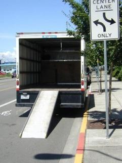 Moving van time